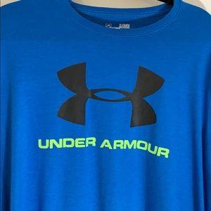 Men's UNDER ARMOR XL loose tee shirt